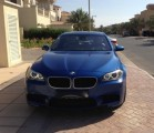 2012  BMW M5  Monte Carlo Blue Akrapovic Exhaust