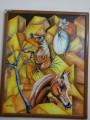 لوحة فنية مقاس 1.80 سم
