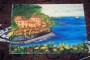 لوحة فنية بريشتي