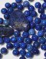 12 حبة من الاحجار الكريمة من اللازورد