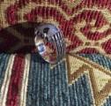 خاتم  انيق فضة من العقيق