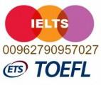 شهادة ايلتس و توفل للبيع 00962790957027