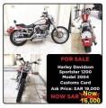 هارلي سبوستر 1200 موديل 2004 Harley Sportster