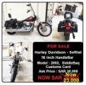 هارلي سوفتيل 2002 Harley Davidson Softiel