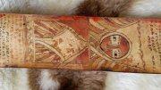 مخطوطه جلديه جلد غزال عمرها اكثر من ١٠٠٠ عام