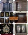 أبواب خشبية وحديدية وليزر من الورشة الحديدية والنجارية بالسعودية